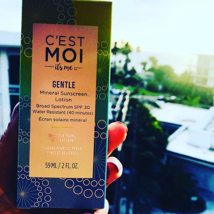 Cest Moi Gentle Sunscreen all Natural for Teens and Tweens