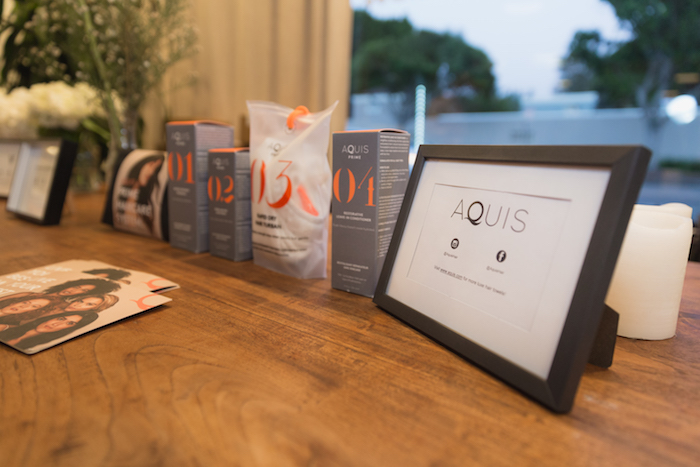 Aquis Hair at Foundermade dinner preview West Hollywood