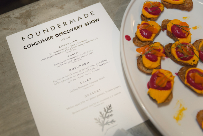 FounderMade Dinner in West Hollywood At Yarrow Caffe