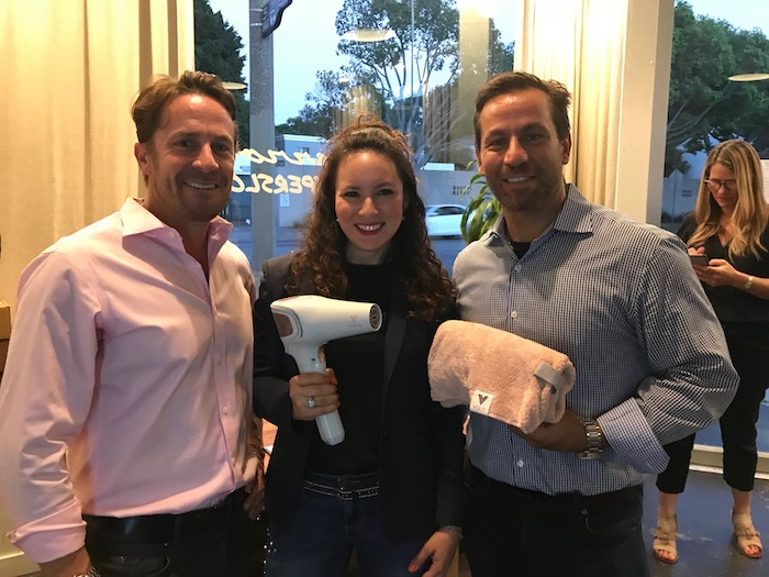 Foundermade dinner with Volo Founders Cordless Hair Dryer