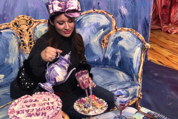 Immersed in Wonderland Tea Party Fashion Blogger Beverly Hills