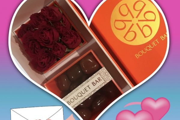 Bouquet Bar Gift Ideas Roses and Chocolates Delivered