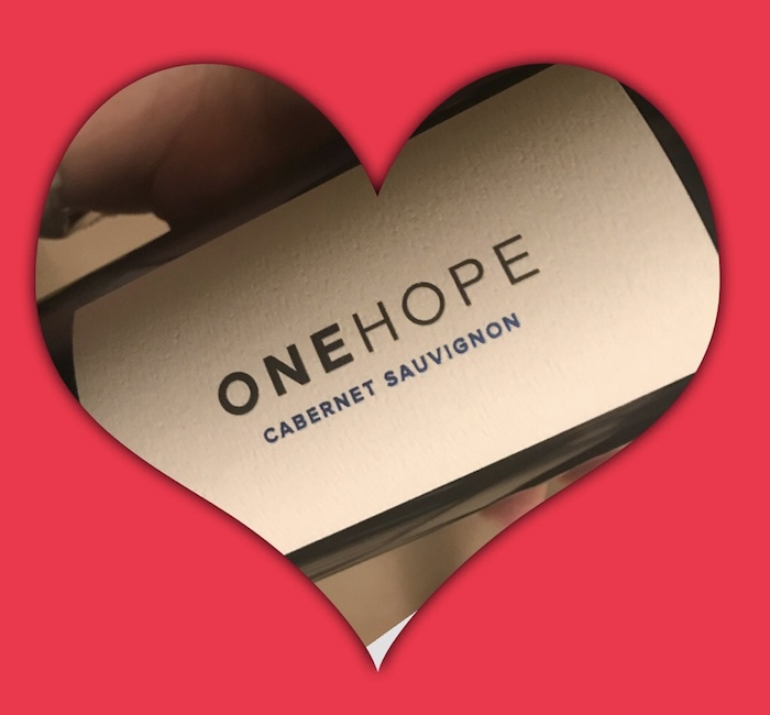 One Hope Cabernet Sauvignon Wine Valentines Day Wine Ideas