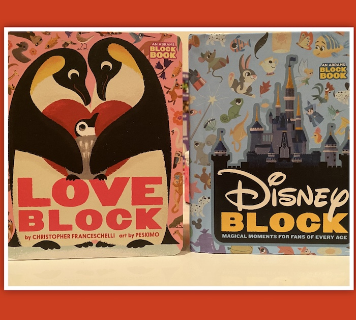 Disney Block Books For Toddlers Board Books