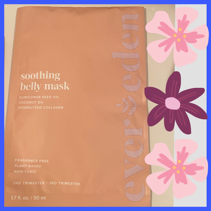 Ever Eden Soothing Belly Mask For Pregnant Women