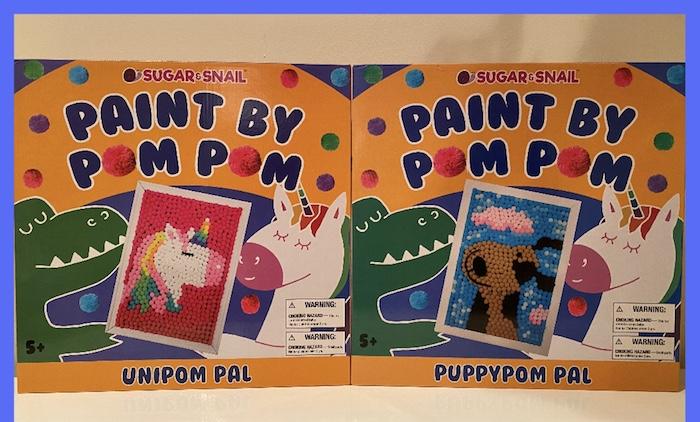 Paint By Pom Pom Best art gifts for kids pom pom art