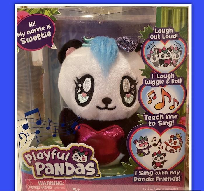 Playful Pandas Singing toys